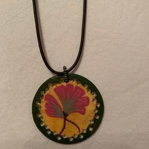 Chan Luu painted necklace